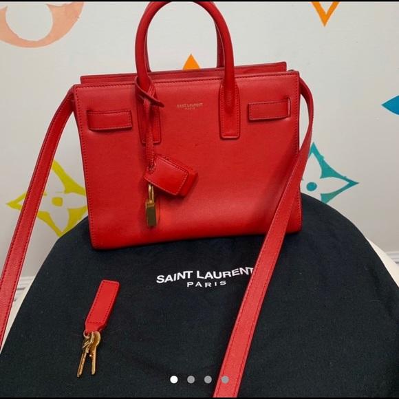 32099136fd M_5c83122134a4ef0fa0c549b9. Other Bags you may like. Ysl wallet on chain  black